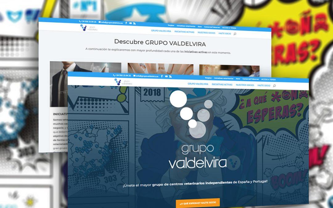 Nuevo Sitio Web de Grupo VALDELVIRA