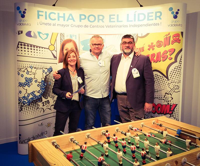 Grupo Valdelvira estuvo presente en el Congreso Vetmadrid y la feria IBERZOO+PROPET