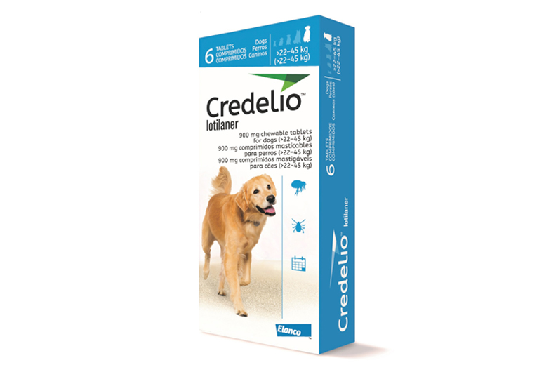 Nuevo Producto: Credelio 900 mg, antiparasitario externo para perros de más de 22 kg