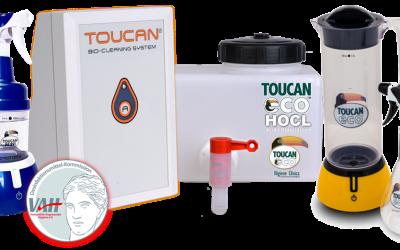 Toucan Eco HOCL, el antiséptico ideal para tu clínica veterinaria
