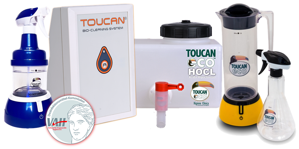 Toucan Eco HOCL, el antiséptico ideal para tu clínica veterinaria