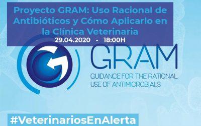 [CHARLA ONLINE] Proyecto GRAM: Uso Racional de Antibióticos y Cómo Aplicarlo en la Clínica Veterinaria – #VeterinariosEnAlerta