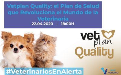 [CHARLA ONLINE] Vetplan Quality: el Plan de Salud que Revoluciona el Mundo de la Veterinaria – #VeterinariosEnAlerta
