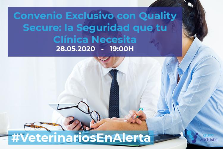 [CHARLA ONLINE] Descubre el Convenio Exclusivo con Quality Secure: la Seguridad que tu Clínica Necesita – #VeterinariosEnAlerta