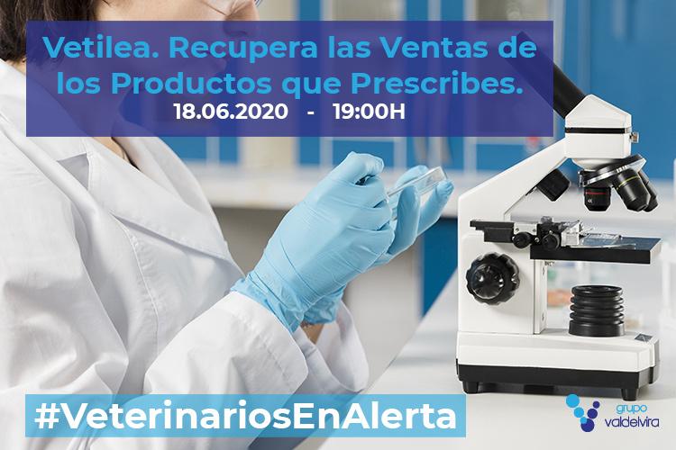 [CHARLA ONLINE] Vetilea, un Nuevo Laboratorio que pone al Veterinario en el Centro – #VeterinariosEnAlerta